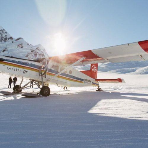遊覧飛行&氷河着陸 グレイシアーハイライト